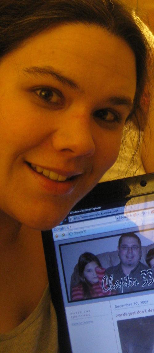 Pam blogging