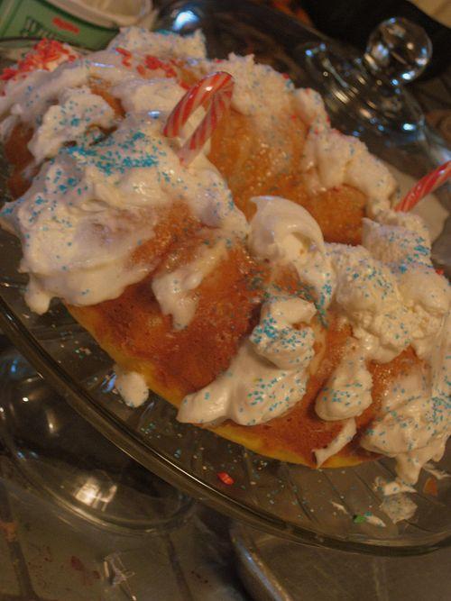 Cake and dog angel 003