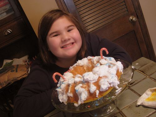 Cake and dog angel 004