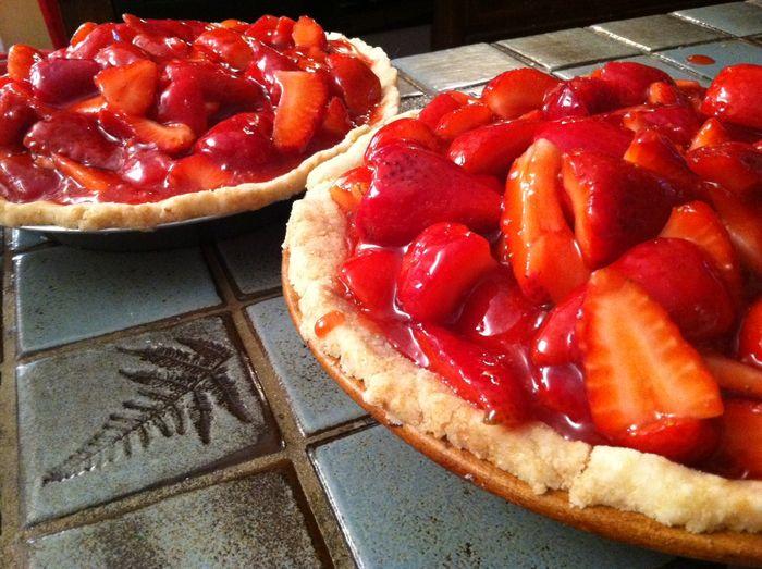 Strawberry pie `1