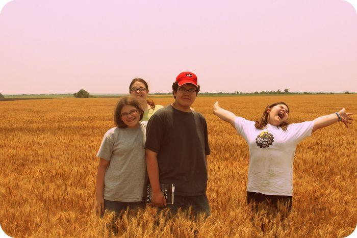 Goofy wheat kids